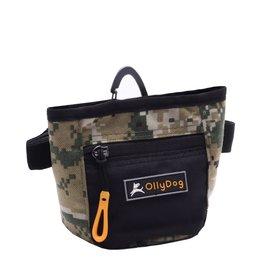 OllyDog Goodie Treat Bag: Woodland Camo, os