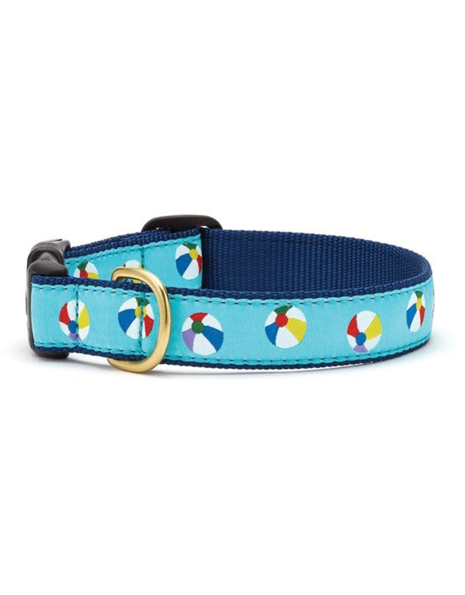 Up Country Beach Balls Collar: Wide, L