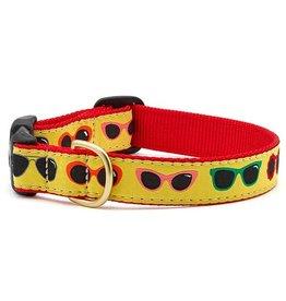 Up Country Shady Dog Collar: Narrow, XS