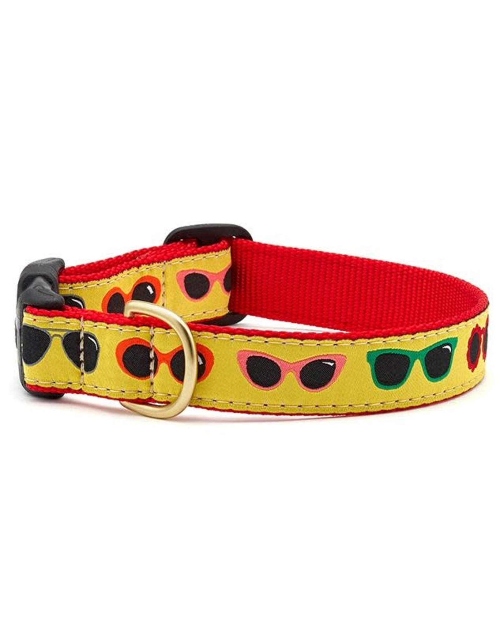 Up Country Shady Dog Collar: Wide, M