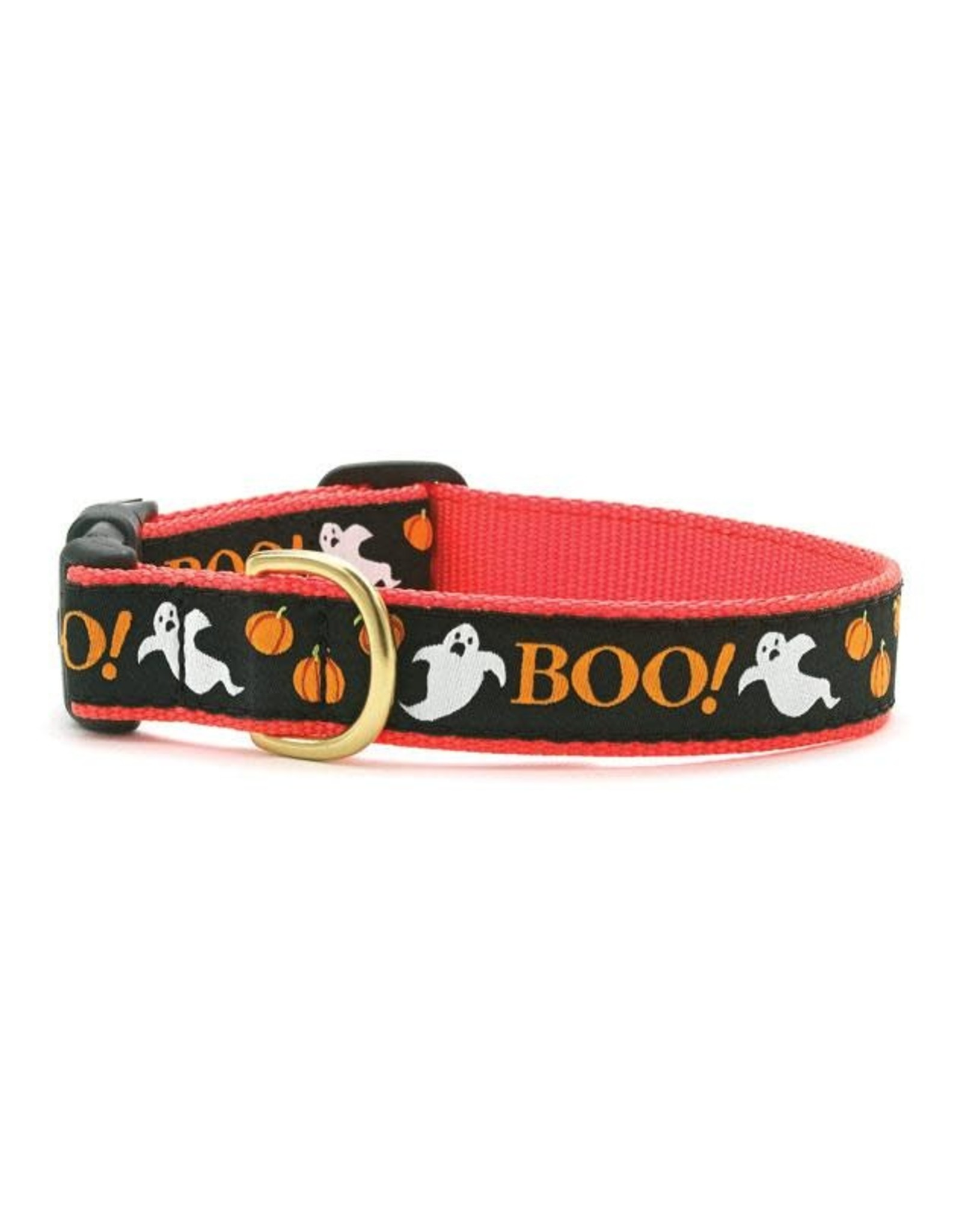 Up Country Boo! Halloween Collar: Wide, XL