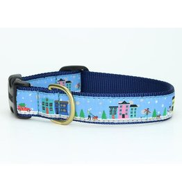 Up Country City Christmas Collar: Wide, L