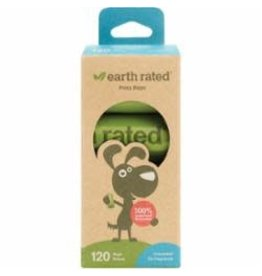EarthRated Poop Bags: Unscented, 8 rolls