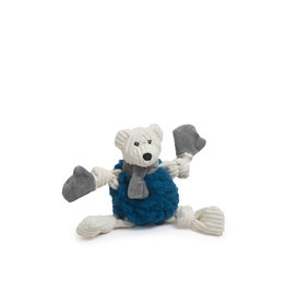 Hugglehounds Holiday HuggleFleece Fluffer Knottie: Bear, S