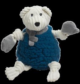 Hugglehounds Holiday HuggleFleece Fluffer Knottie: Bear, L