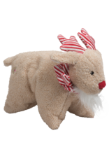 Hugglehounds Peppermint Collection Squooshie: Reindeer, L