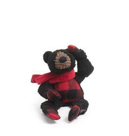 Hugglehounds Fireside Collection: Black Bear Knottie, S