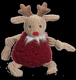 Hugglehounds Holiday FlufferKnottie: Redmund Reindeer, L
