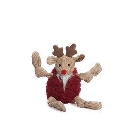 Hugglehounds Holiday FlufferKnottie: Redmund Reindeer, S