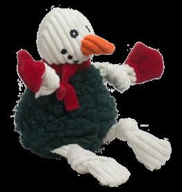 Hugglehounds Holiday FlufferKnottie: Snowman, L