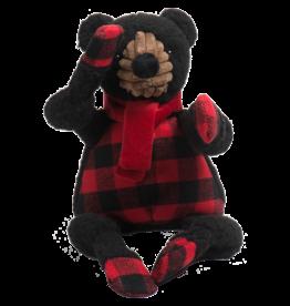 Hugglehounds Fireside Collection: Black Bear Knottie, L