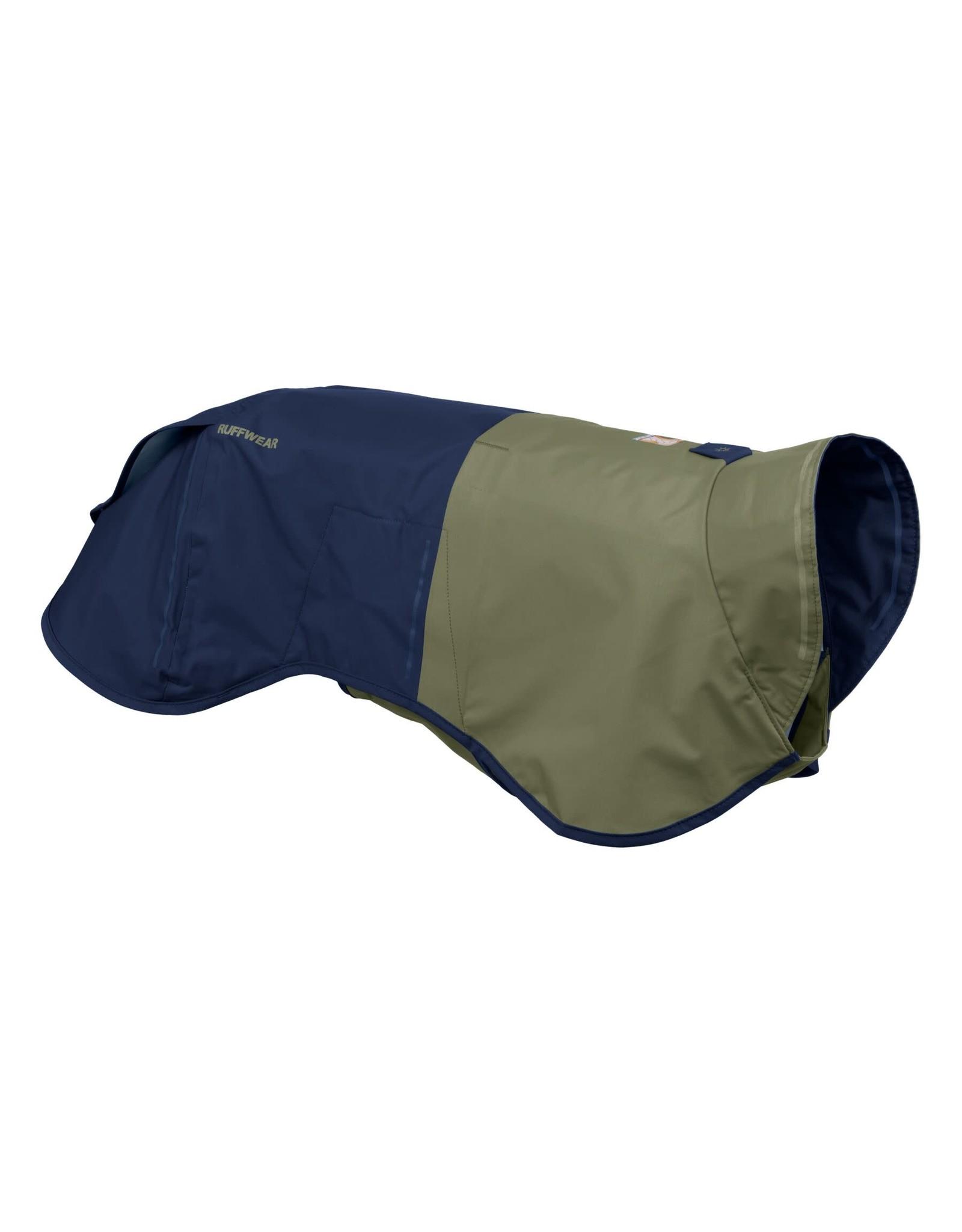 Ruffwear Sun Shower Rain Jacket: Midnight Blue, M