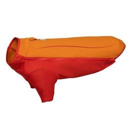 Ruffwear Undercoat Water Jacket: Campfire Orange, L