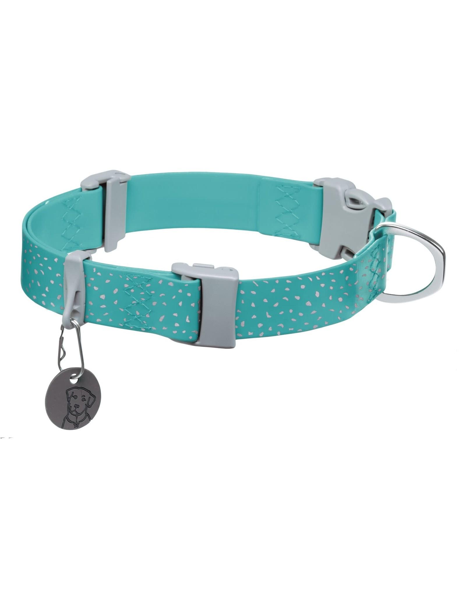 Ruffwear Confluence Collar: Aurora Teal, 14 - 20 in