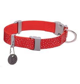 Ruffwear Confluence Collar: Red Sumac, 14 - 20 in