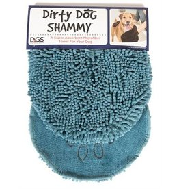 Dog Gone Smart Pet Products Dirty Dog Shammy Towel: Pacific Blue, os