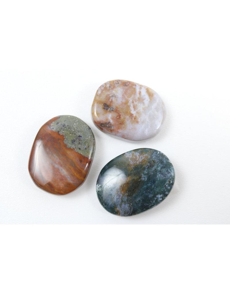 Fancy Jasper Palm Stone - India