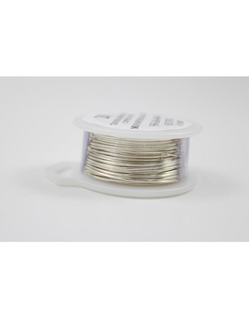 20 Gauge Silver Wire w/ Copper Core 20ga x6yds