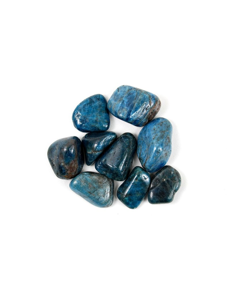 "Apatite Tumbled1 3/4"" Pocket Stone"