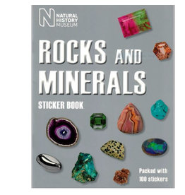 Natural History Museum Rocks and Minerals Sticker Book