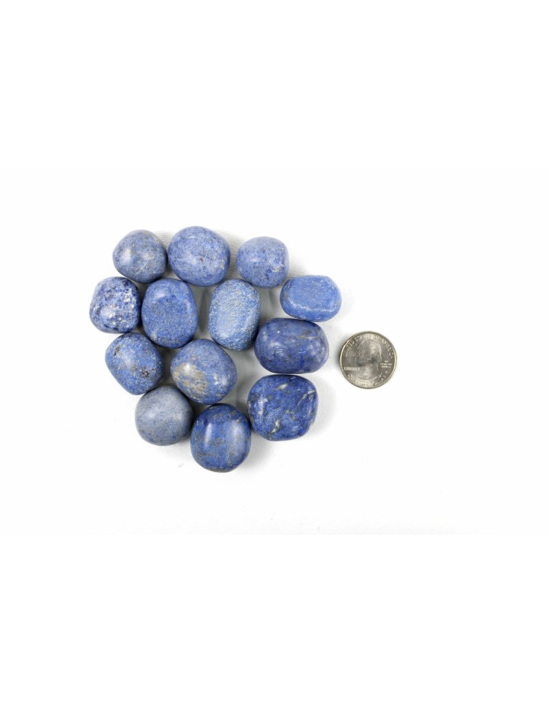 "Dumortierite Tumbled Peru 1"" Pocket Stone"