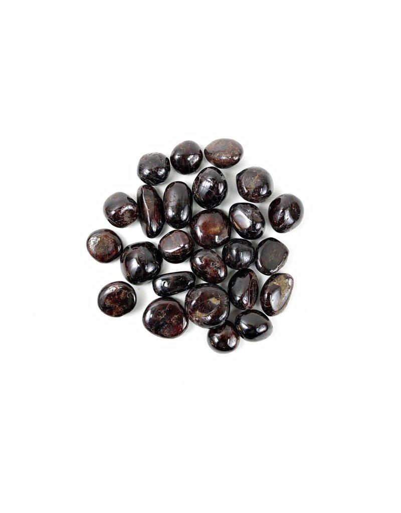 """Garnet Tumbled China 1"""" Pocket Stone"""