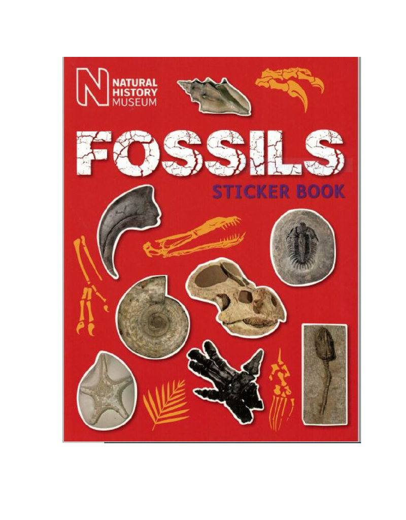Natural History Museum Fossils Sticker Book
