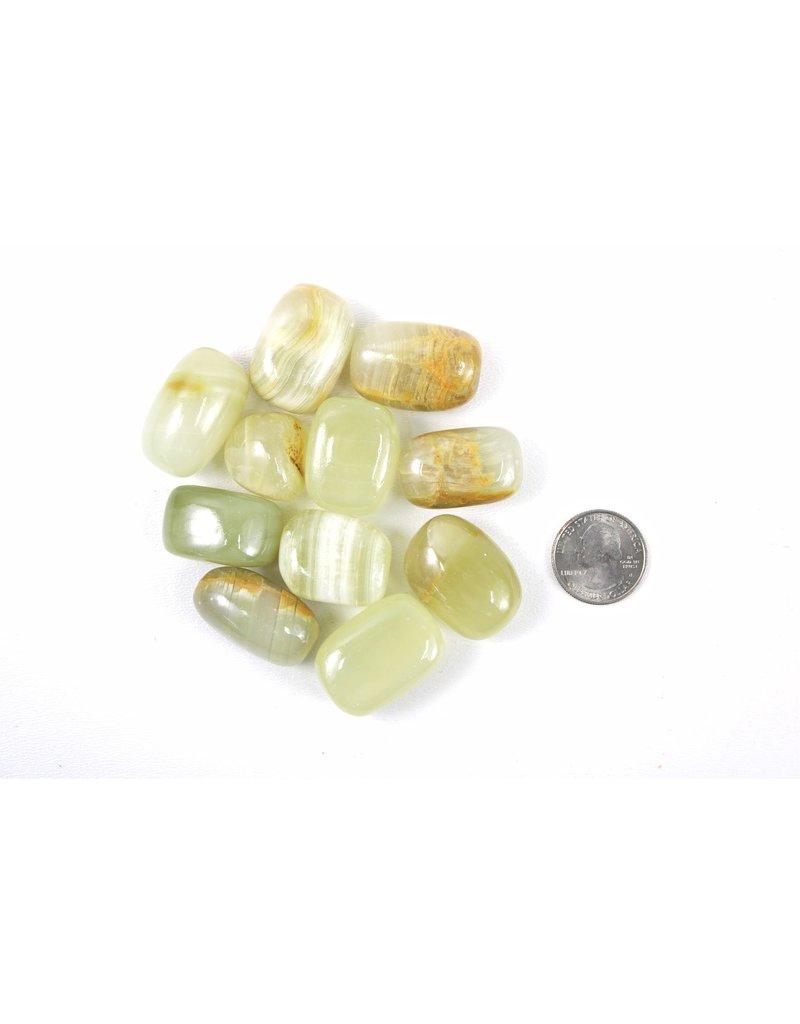 Calcite Green Pakistan Tumbled