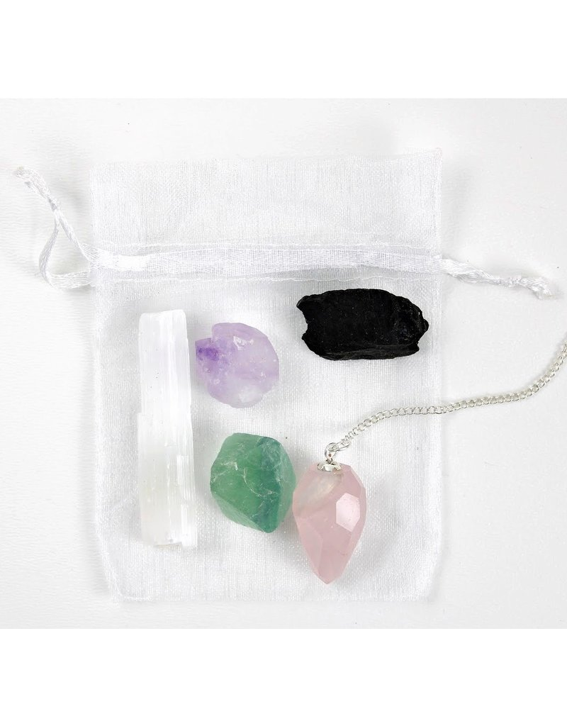 Heart Protection Bundle with Organza Bag