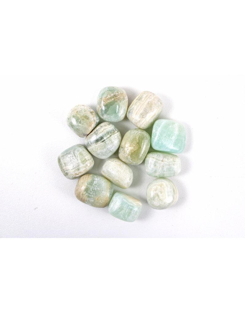 Calcite Pistachio Pakistan Tumbled