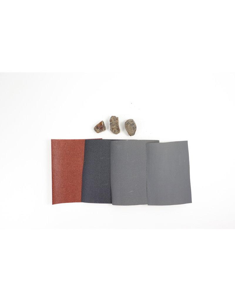 Copal Polishing Kit - An Introduction to Rock Polishing and Lapidary