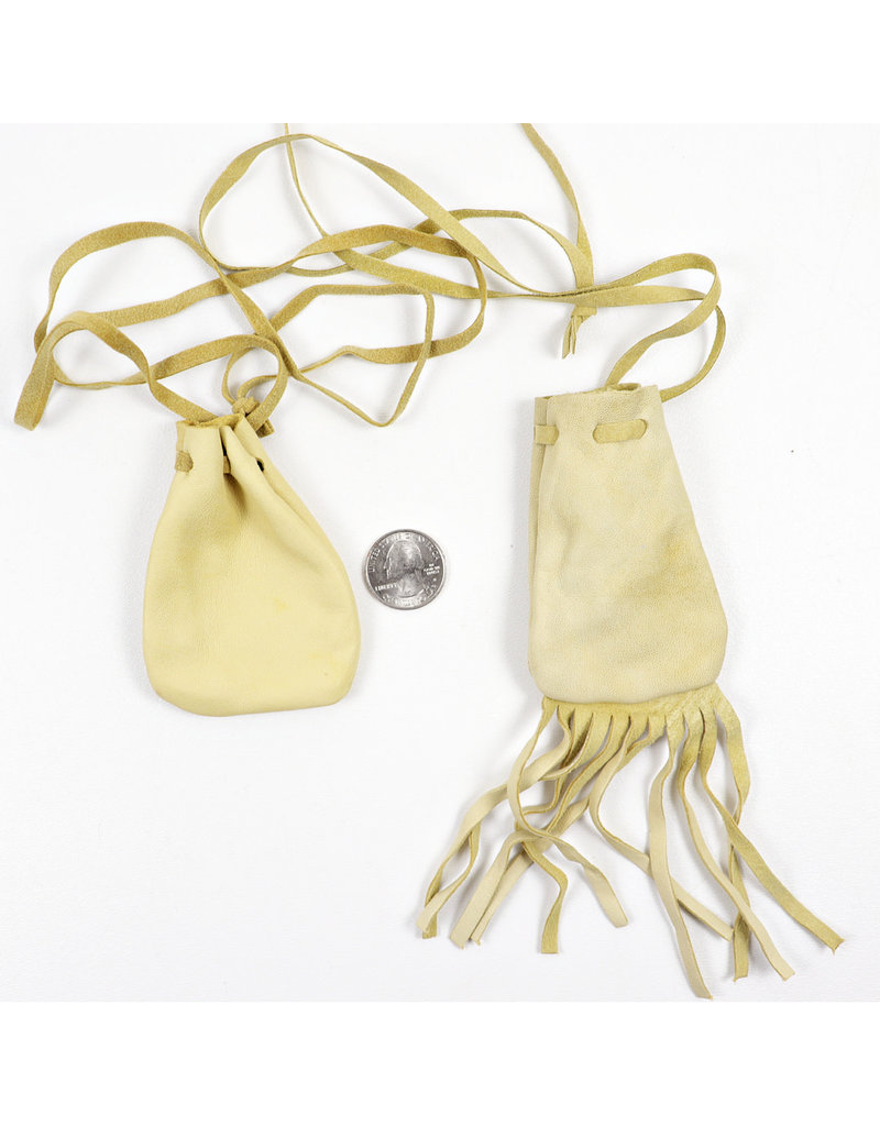 Deerskin Pouch with Fringe