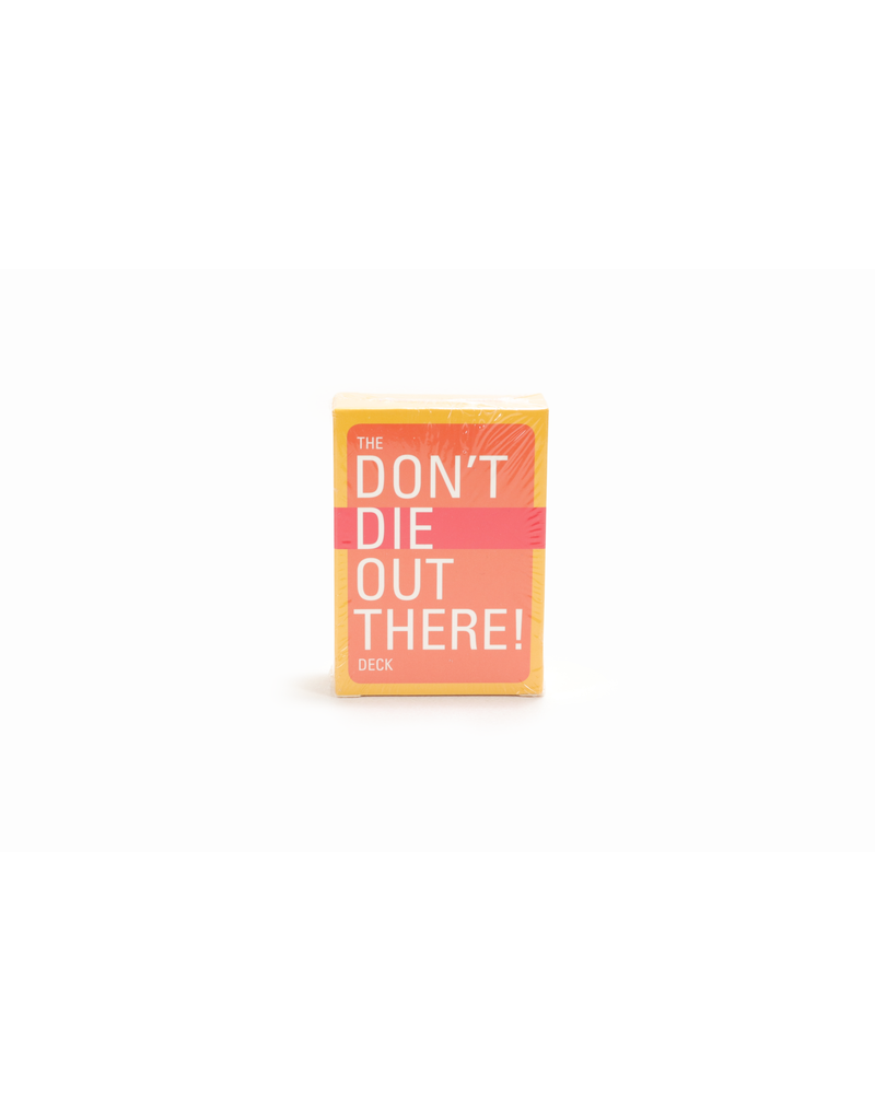 The Don't Die Out There Card Deck