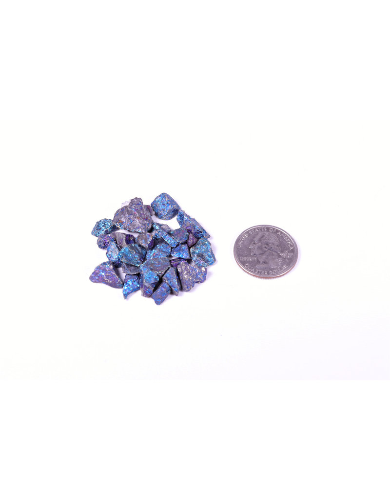 Natural Chalcopyrite Gemstone Peacock Ore