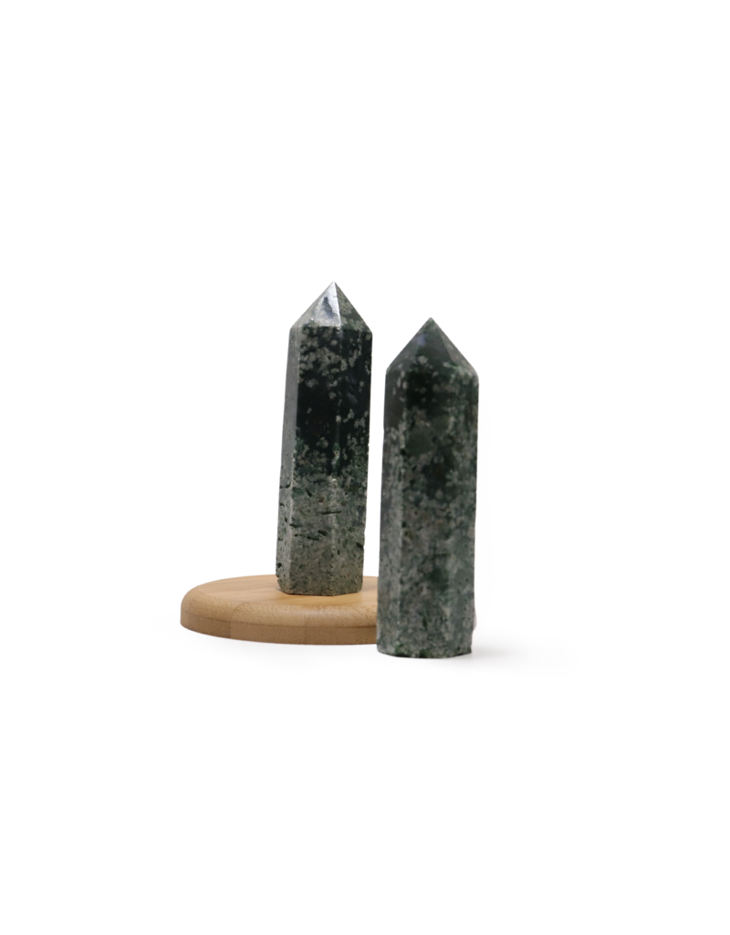Moss Agate Point 71-90g