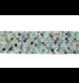 Fluorite Round Beads 8mm