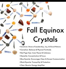 Fall Equinox Crystal Grid Kit