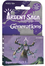 Argent Saga TCG: Expansion Pack - Generations
