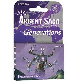 Argent Saga TCG: Expansion Pack - Generations