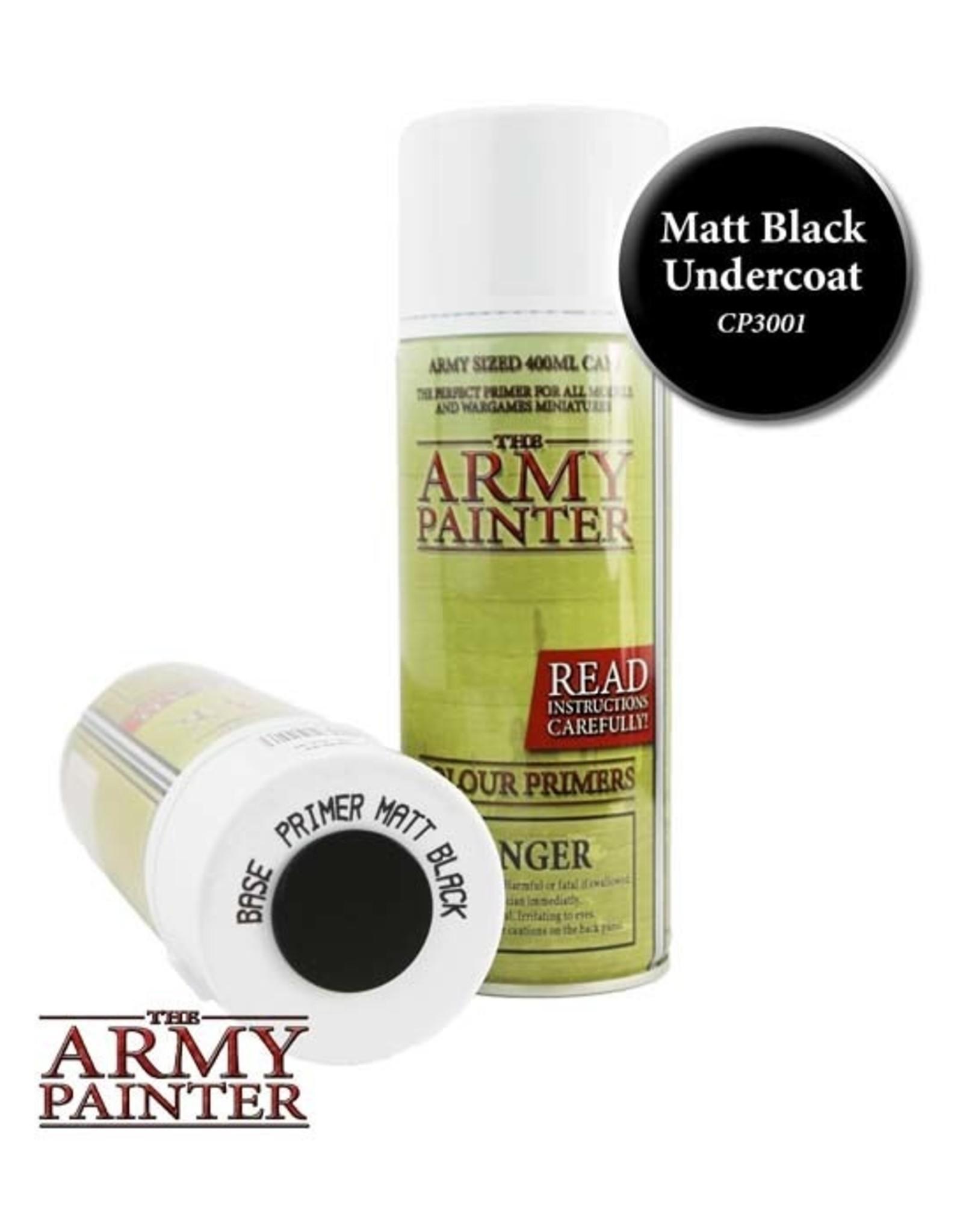 The Army Painter Army Painter: Base Primer - Matt Black