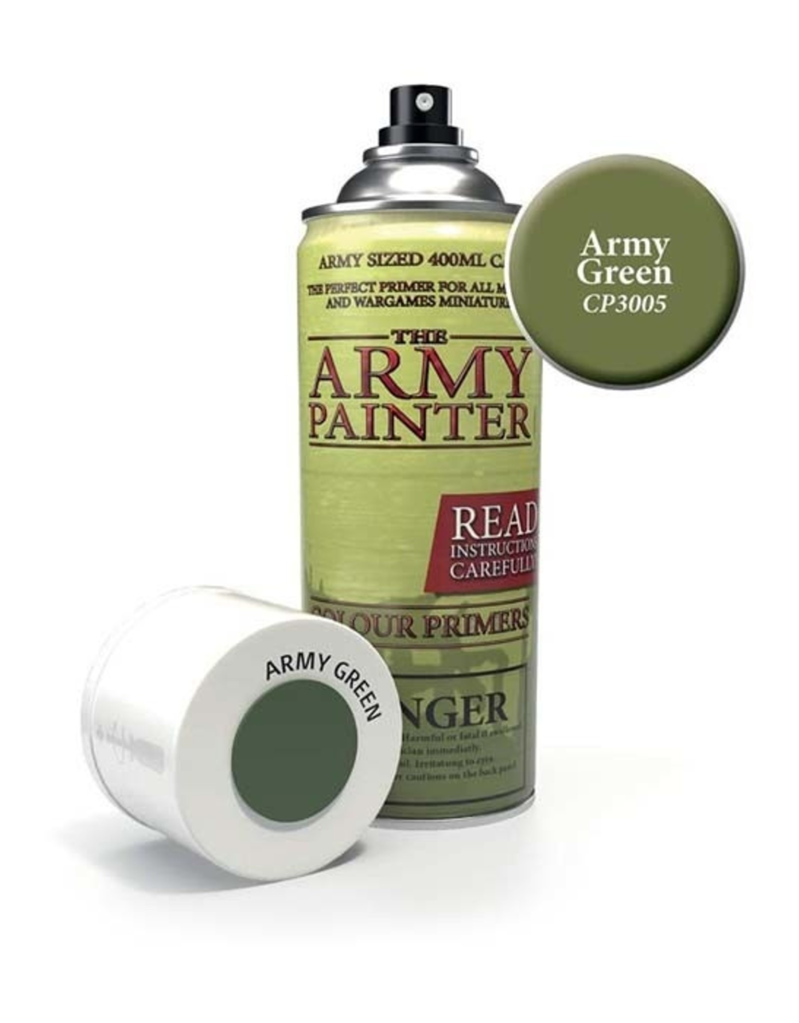 The Army Painter Army Painter: Colour Primer - Army Green