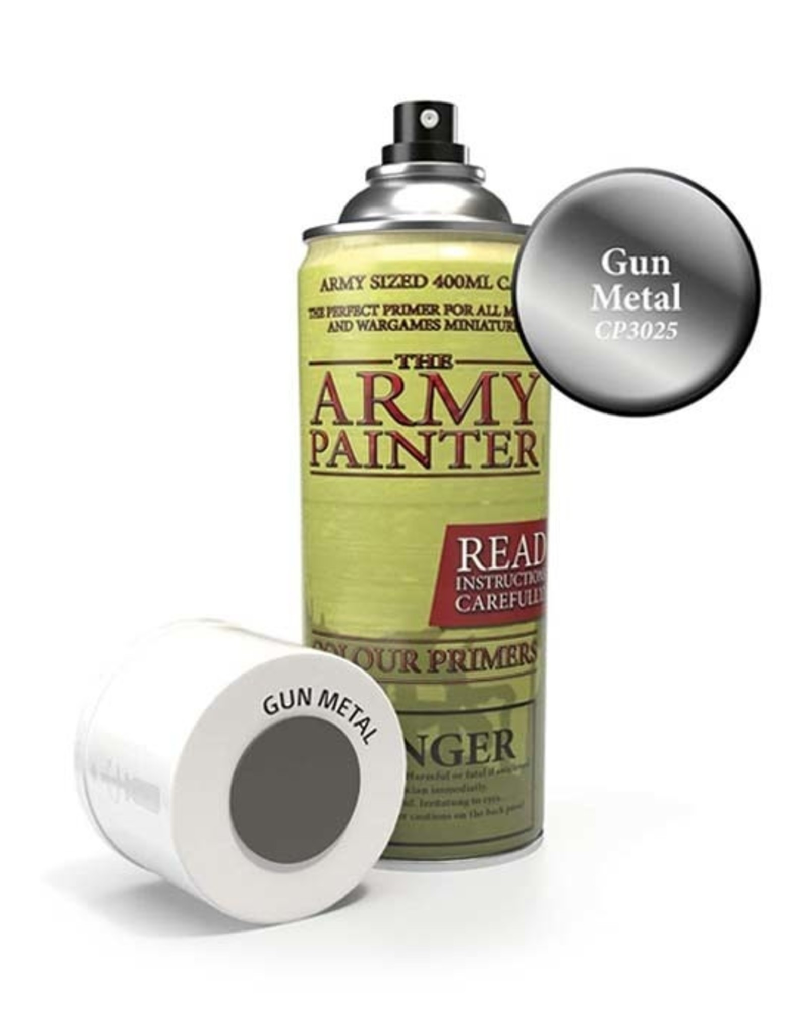 The Army Painter Army Painter: Colour Primer - Gun Metal