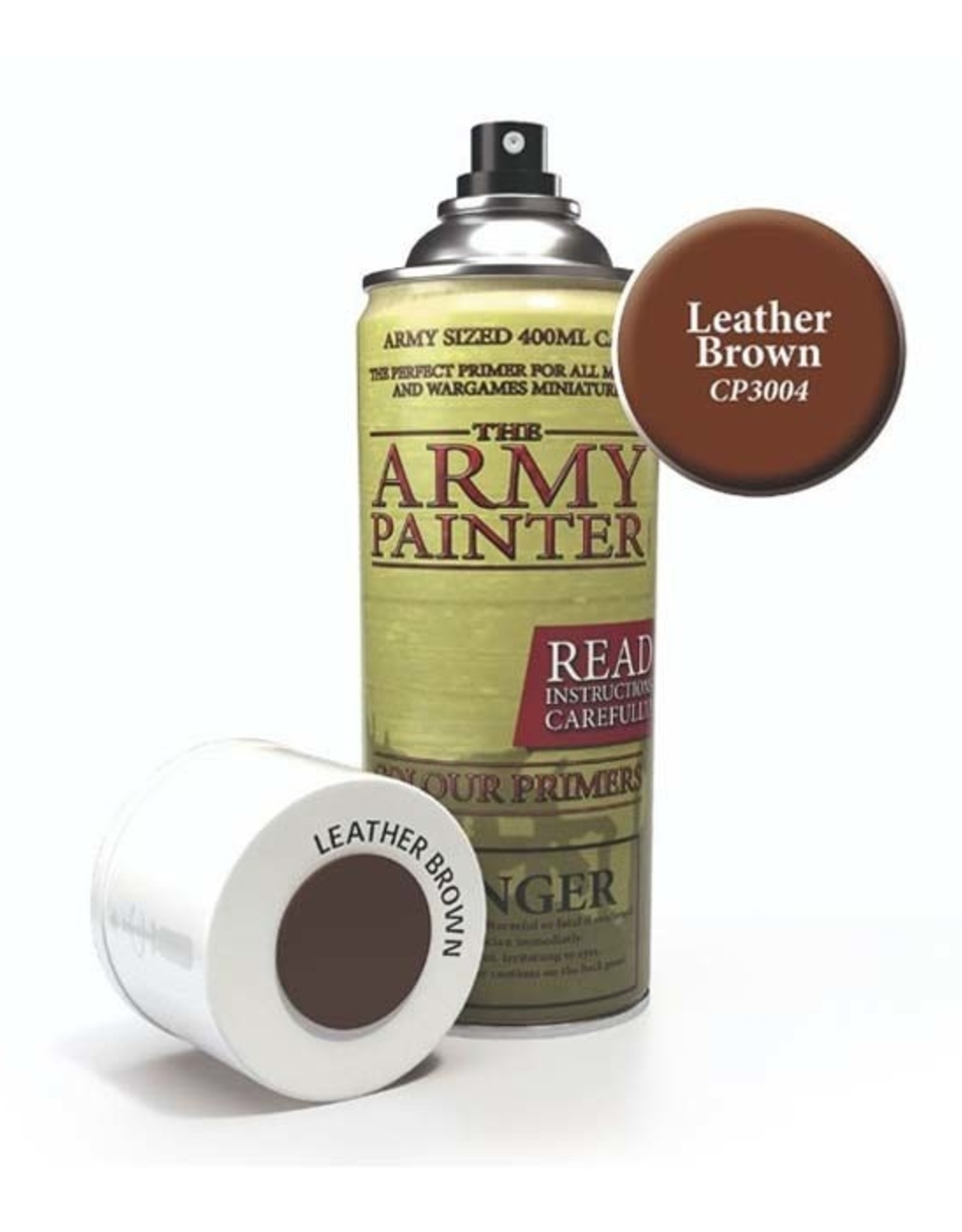 The Army Painter Army Painter: Colour Primer - Leather Brown