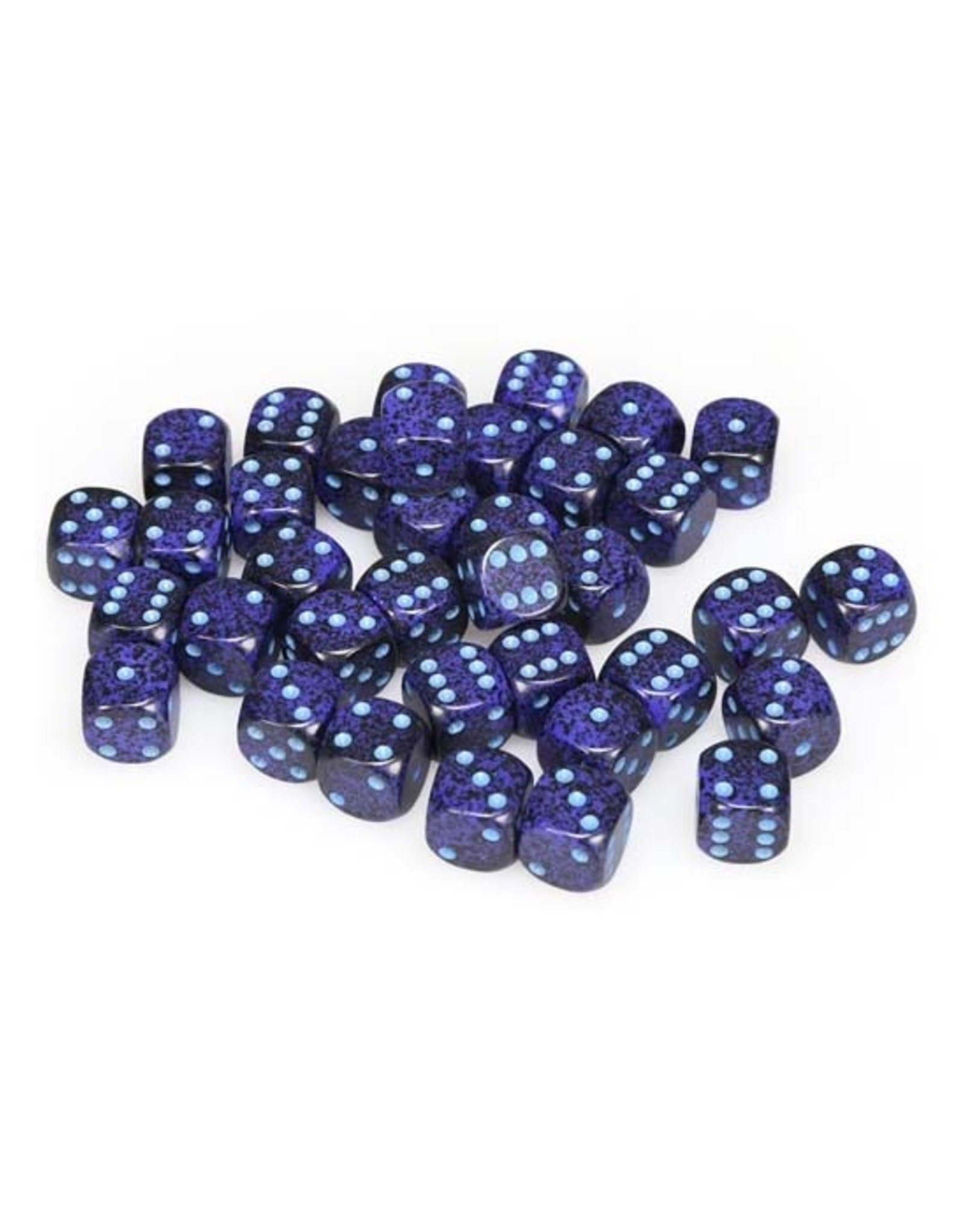 Chessex Chessex: 12mm D6 - Speckled - Cobalt