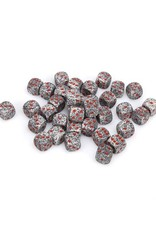 Chessex Chessex: 12mm D6 - Speckled - Granite