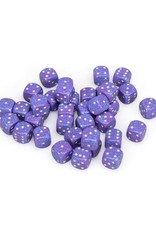 Chessex Chessex: 12mm D6 - Speckled - Silver Tetra