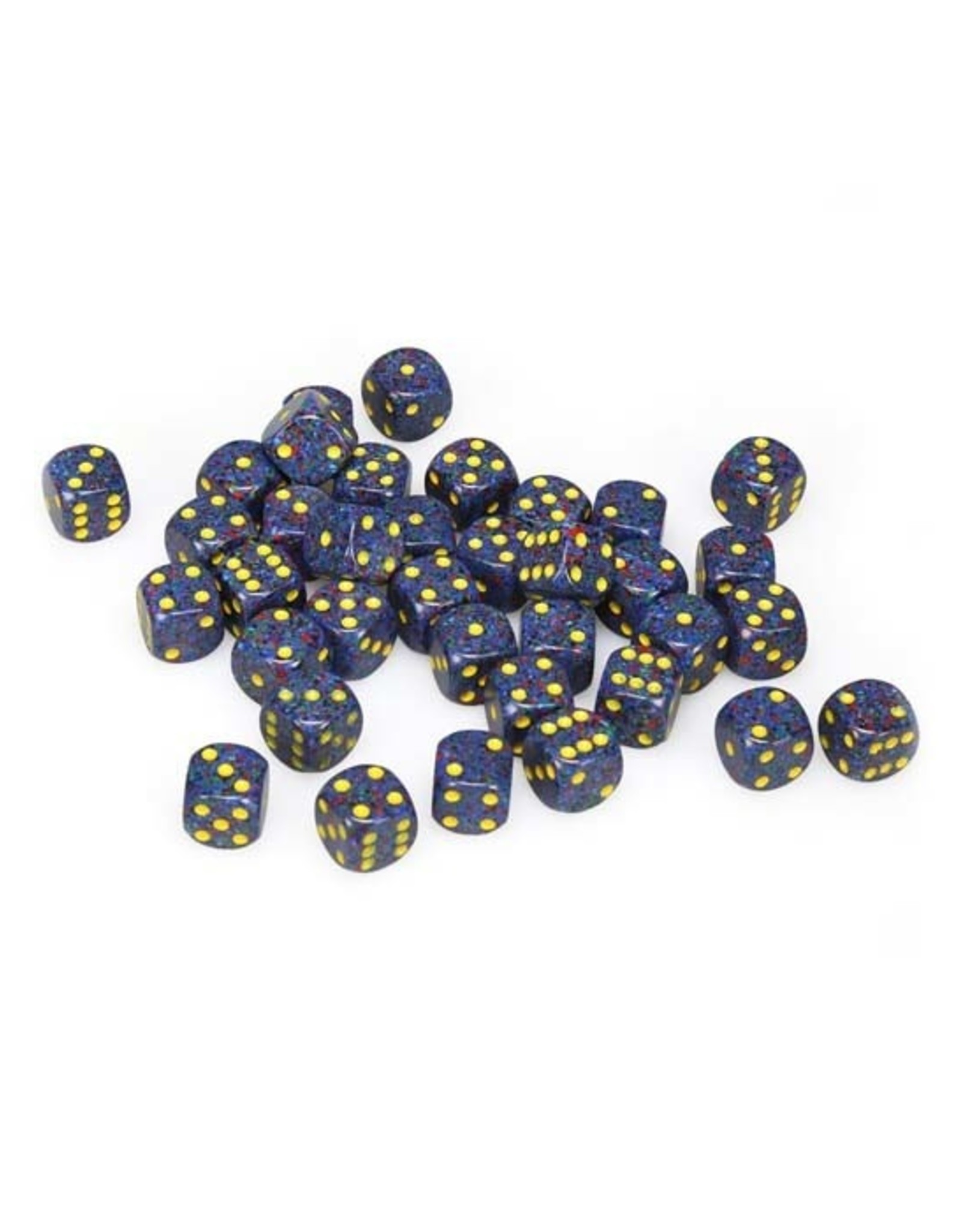 Chessex Chessex: 12mm D6 - Speckled - Twilight