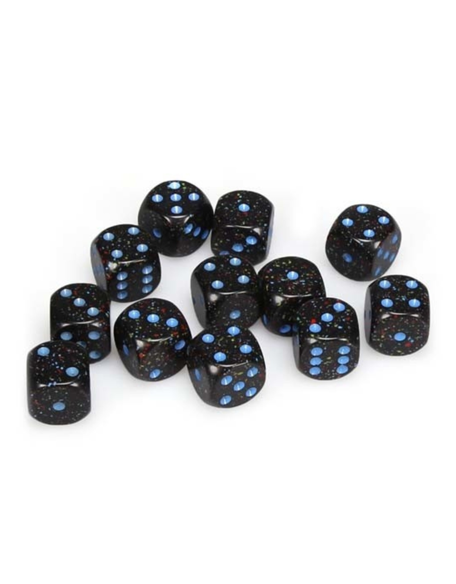 Chessex Chessex: 16mm D6 - Speckled - Blue Stars