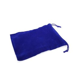 Chessex Chessex: Dice Bag - Large - Royal Blue