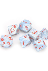 Chessex Chessex: Poly 7 Set - Speckled - Air